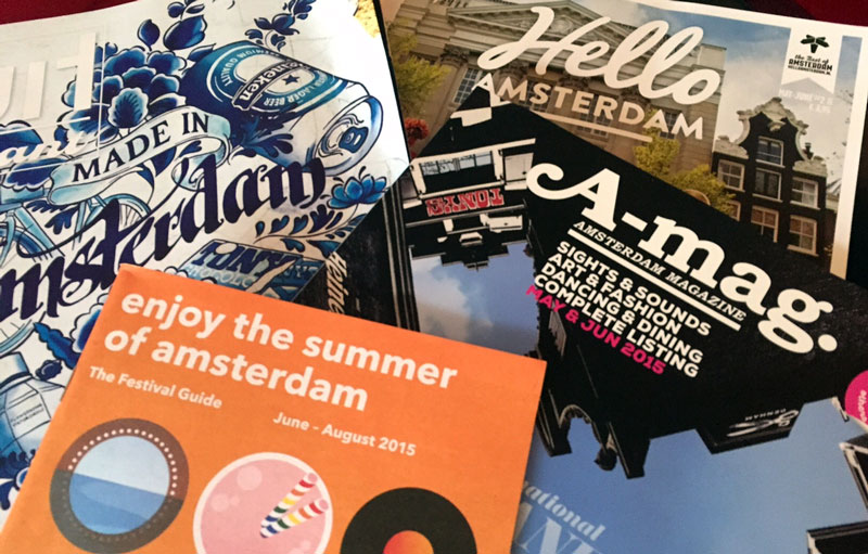 Amsterdam Reisetipps: Kostenlose Magazine in Amsterdam