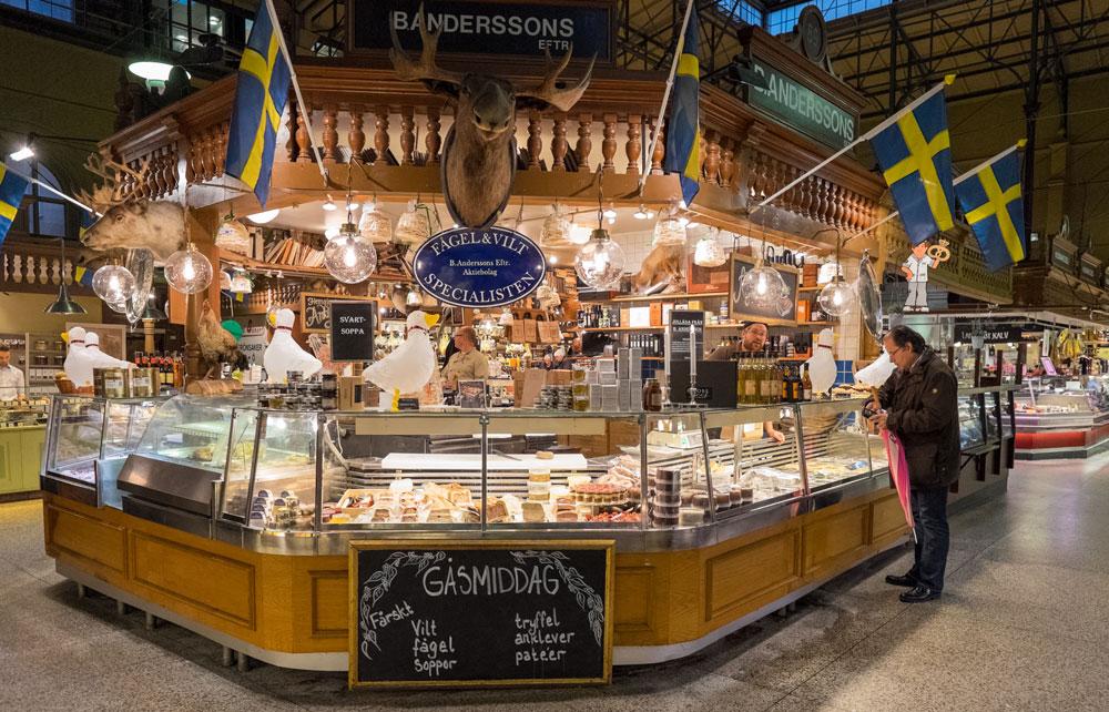 Stockholm Sehenswürdigkeiten Ostermalm Markthalle Stockholm