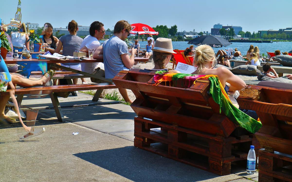 Amsterdam Reisetipps NDSM Werft Pilek perfekt zum entspannen