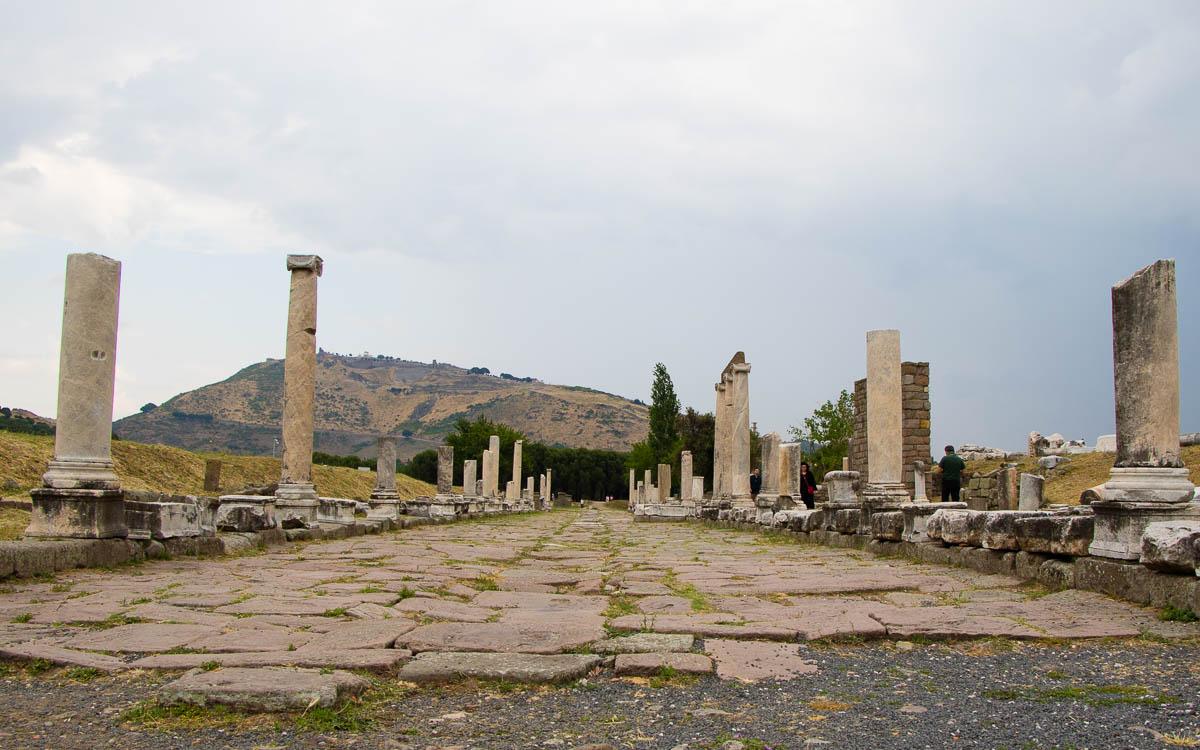 Heilige Straße Pergamon