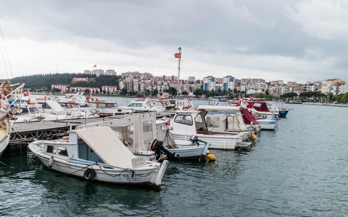 Canakkale Hafen
