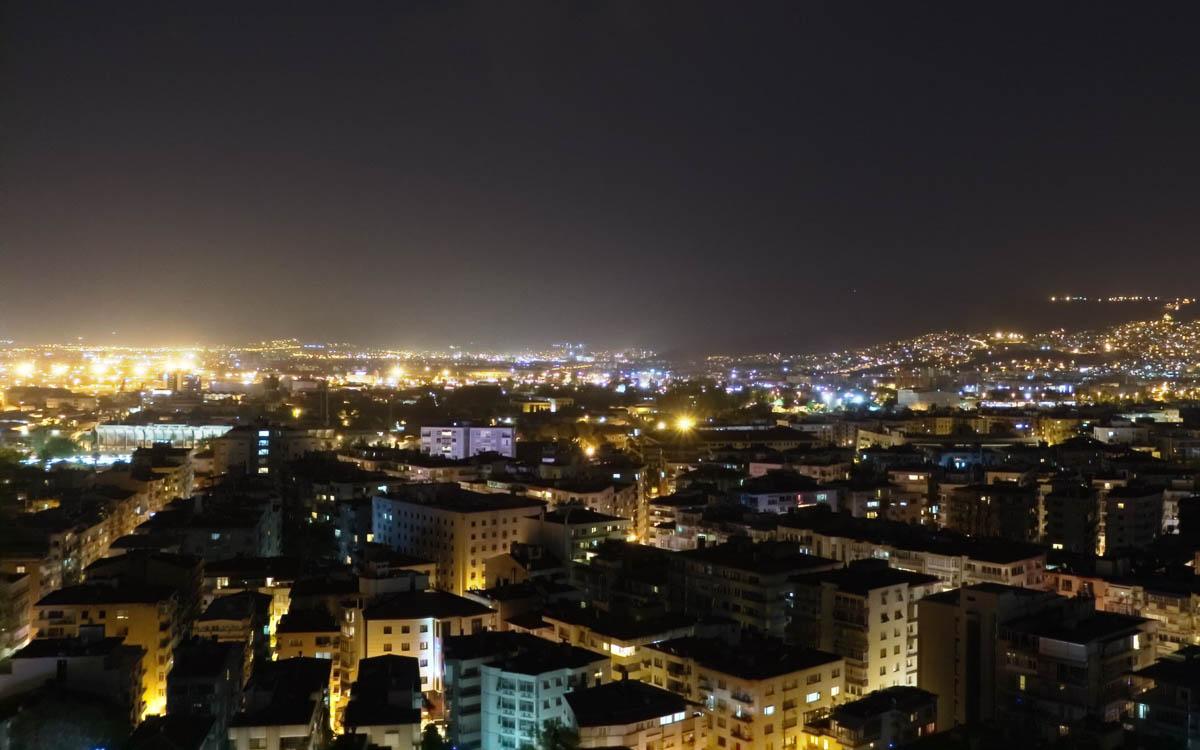 Izmir Ausblick auf Stadt