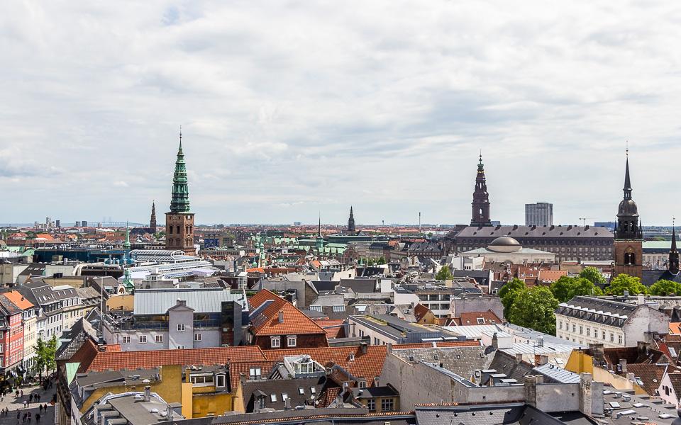 Aussicht Rundetårn Kopenhagen