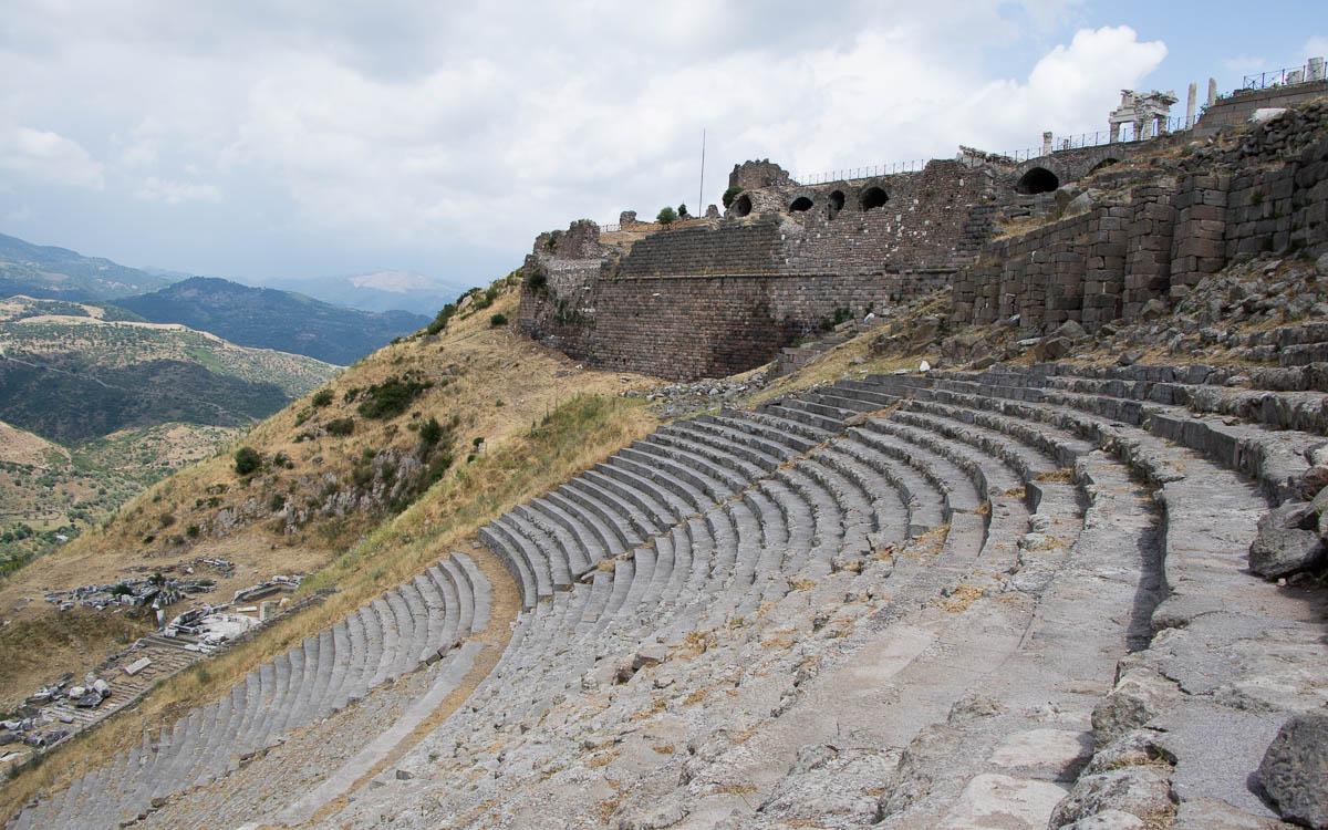 Ägäis Pergamon Amphitheater