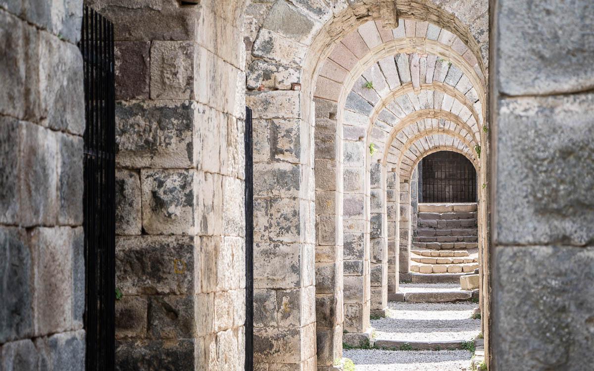 Durchgang Amphitheater Pergamon