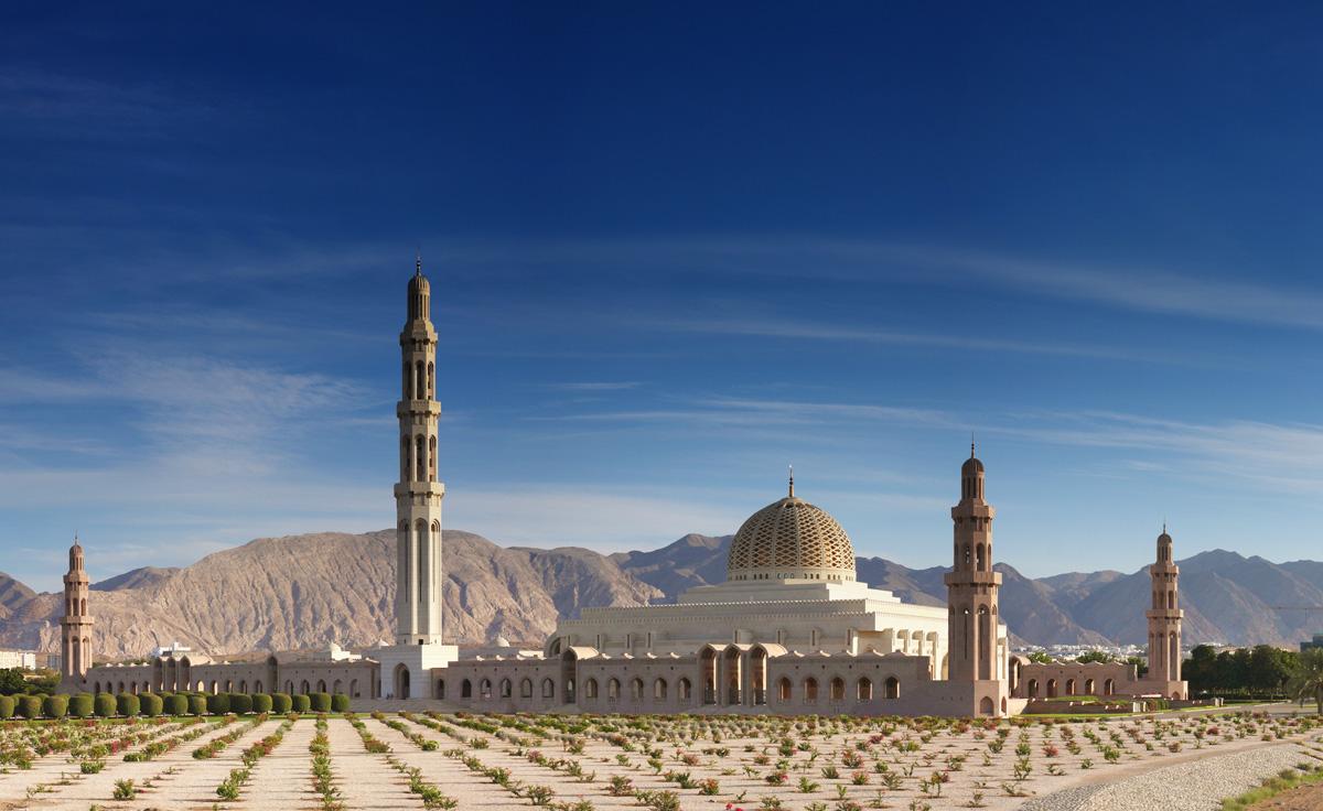 Grand Mosqe Masqat Oman