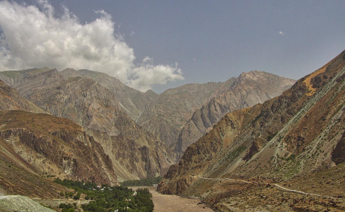 Kalai Khumb Khorog Straße Pamir Highway Tadschikistan