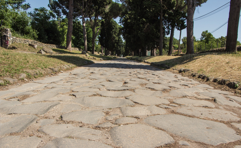 Kopfsteinpflaster Via Appia Antica