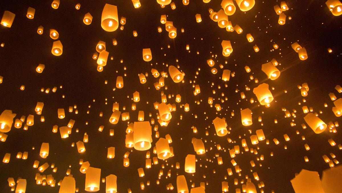 Loy Krathong - Lichterfest in Chiang Mai