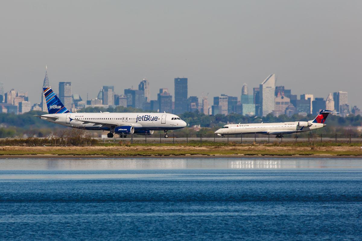 Flughafen New York Flughafen Stadt