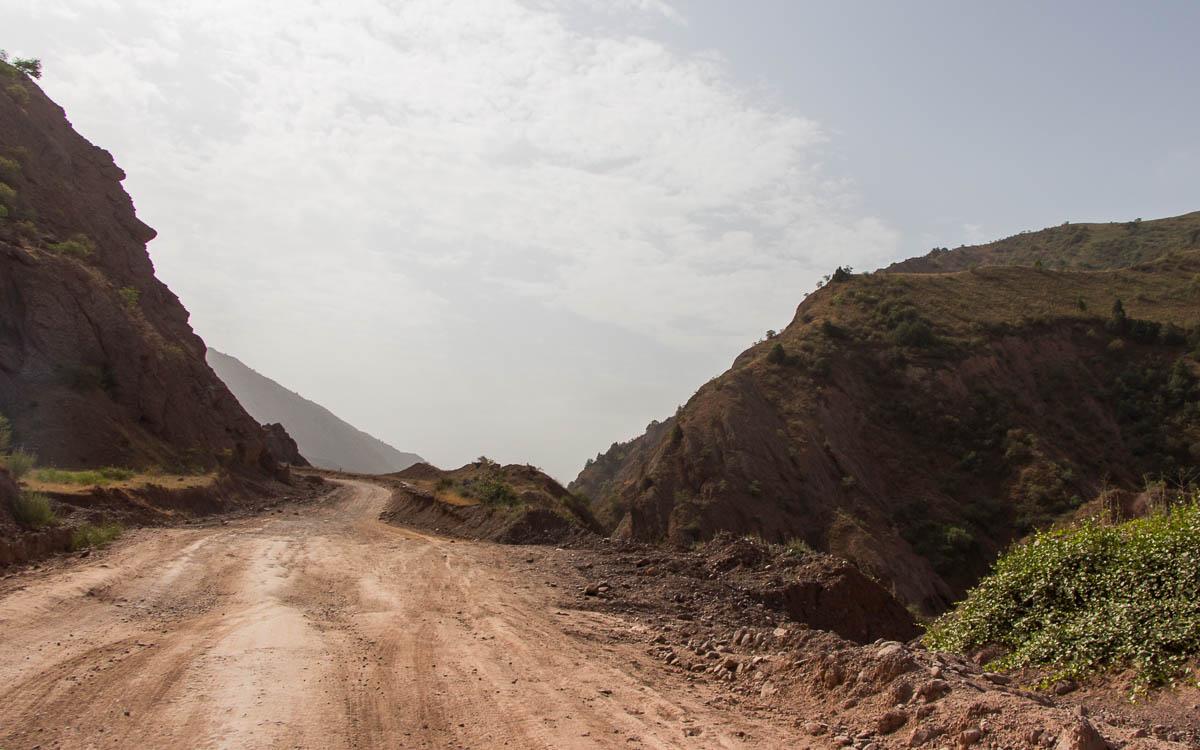 pamir highway zwischen kulob khorog