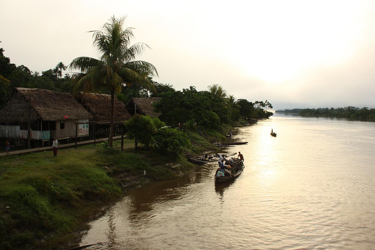 Mit dem Frachter nach Iquitos