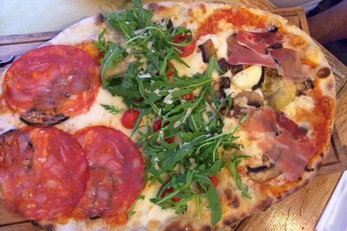 Pizza Sette Oche Rom