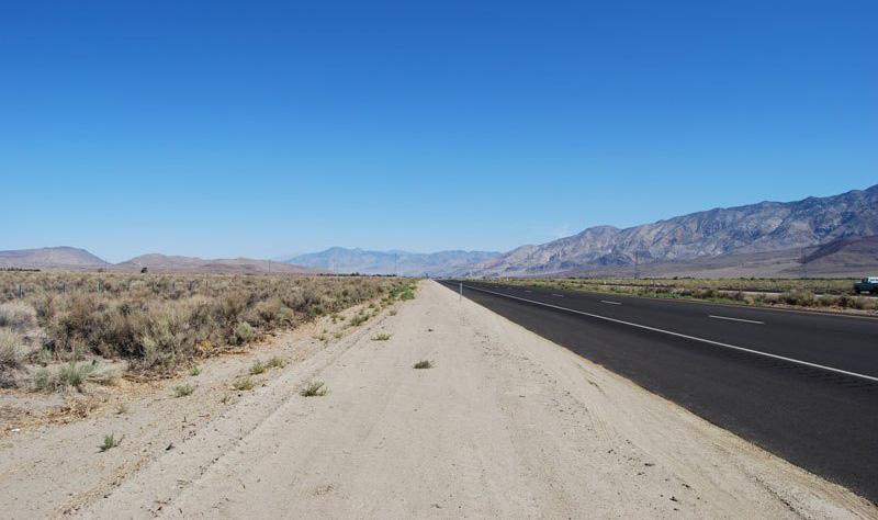 Sierra Nevada ins Death Valley