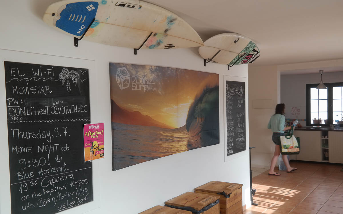 Surfschule Planet Surf Camp Corralejo Fuerteventura