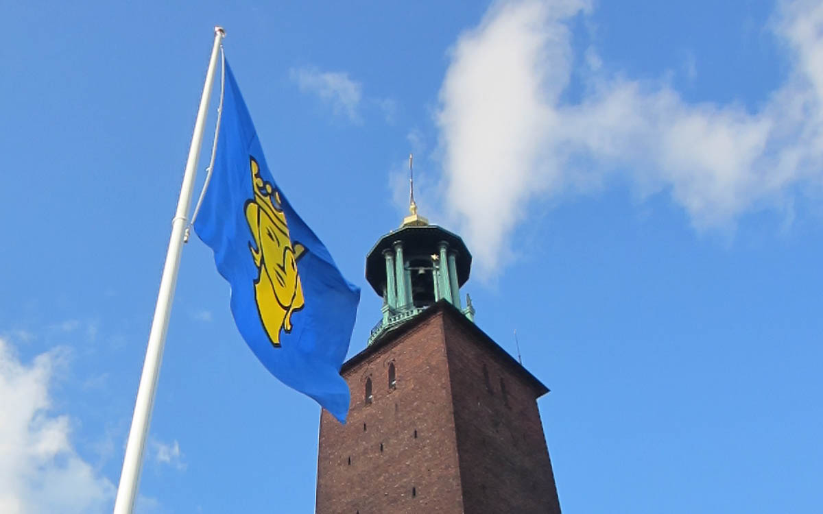 Stockholm Tipps: Sehenswürdigkeiten Stadshuset Rathausturm Stockholm