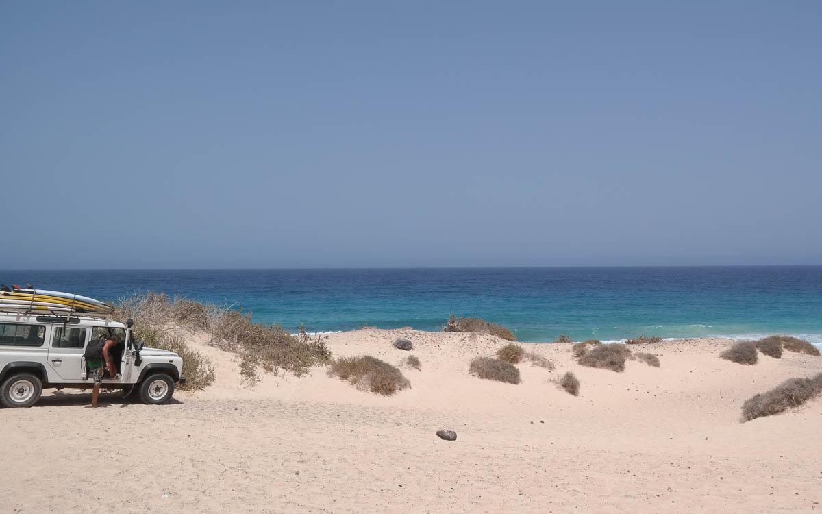 Surfen Fuerteventura Surfschule Strand
