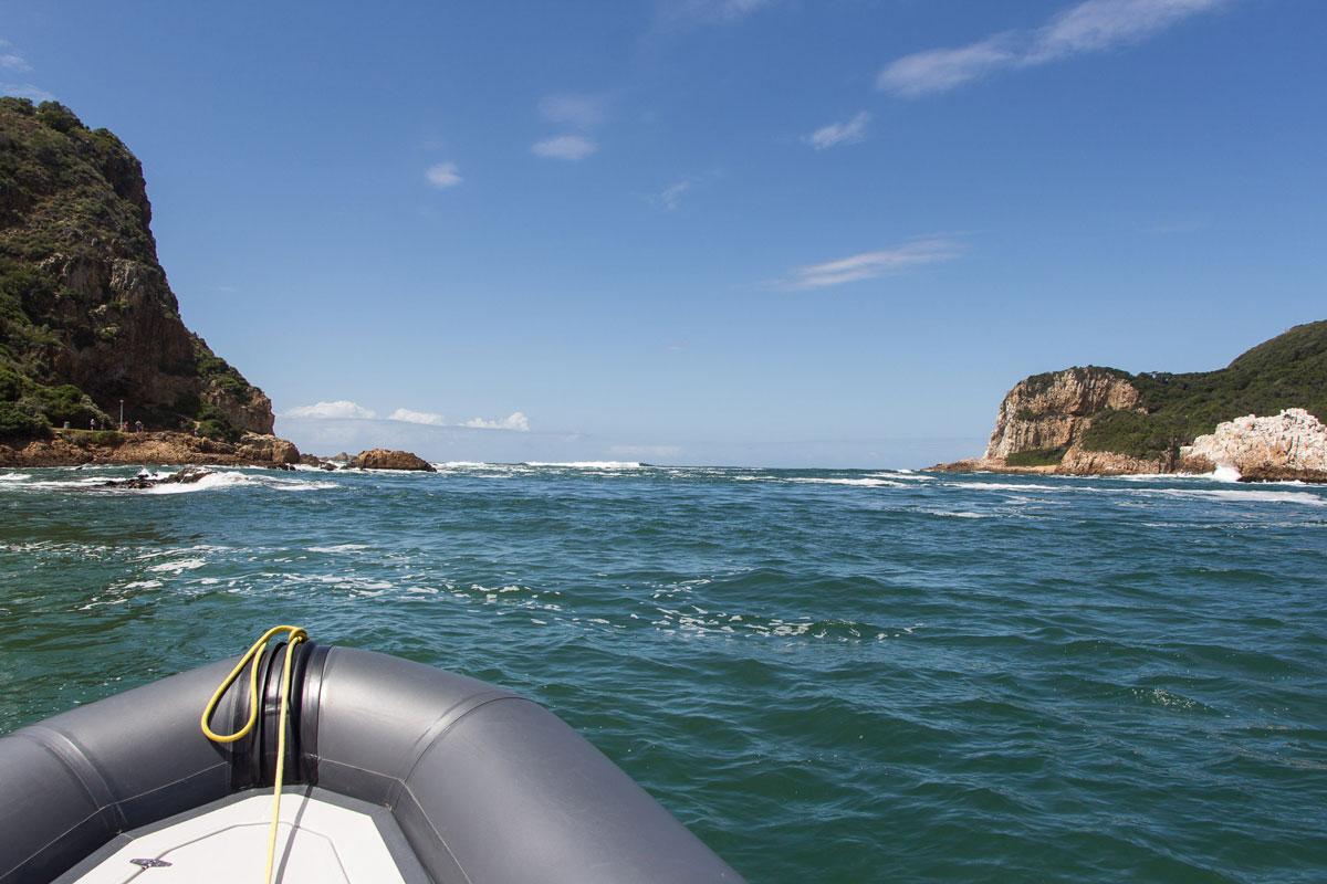 Knysna Speed Boat Tour aufs offene Meer