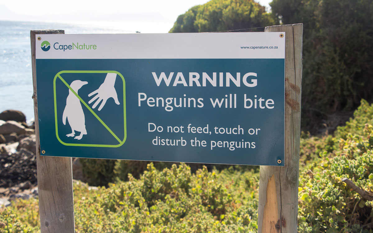 penguins-will-bite-sign