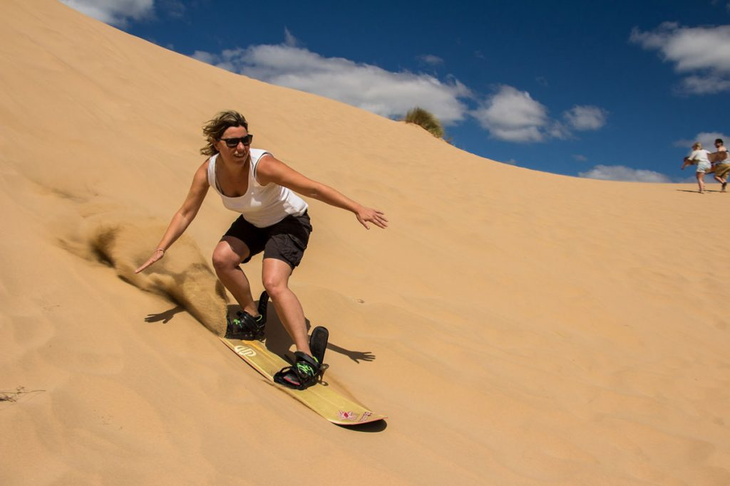 Sandboarding Mossel Bay Dragon Dune