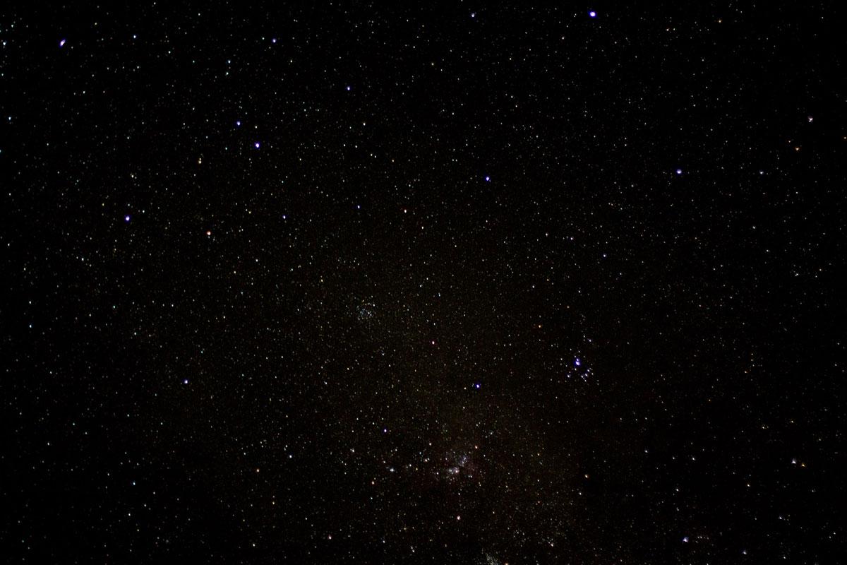 Sternenhimmel im Tsitsikamma Nationalpark