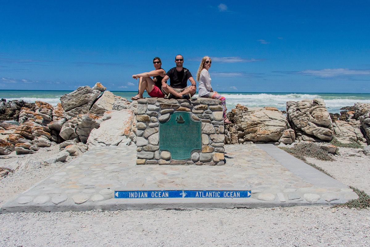 Südlichster Punkt Afrika Cape Agulhas