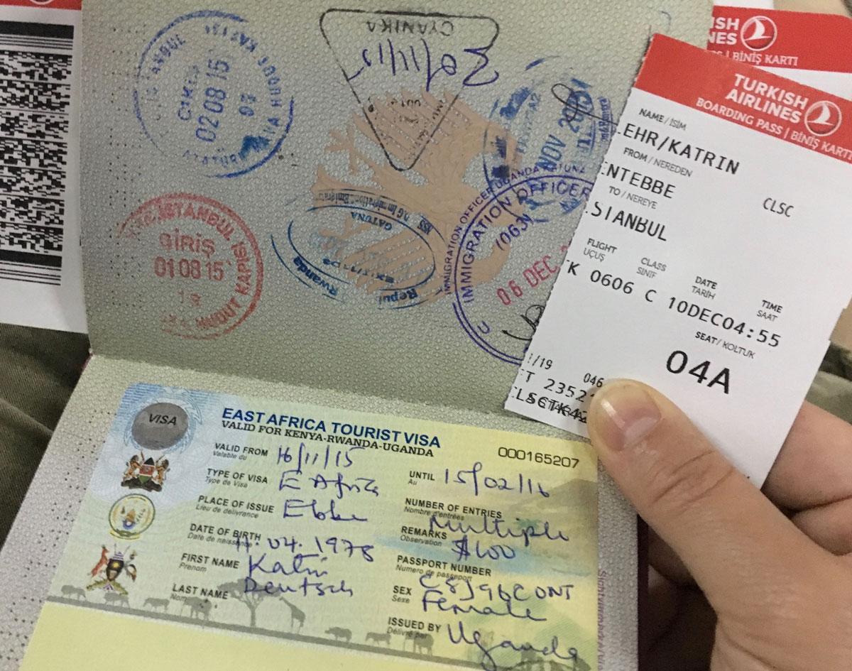 Reisetipps Uganda: East Africa Tourist Visa für Merfacheinreise