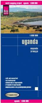 uganda strassen karte