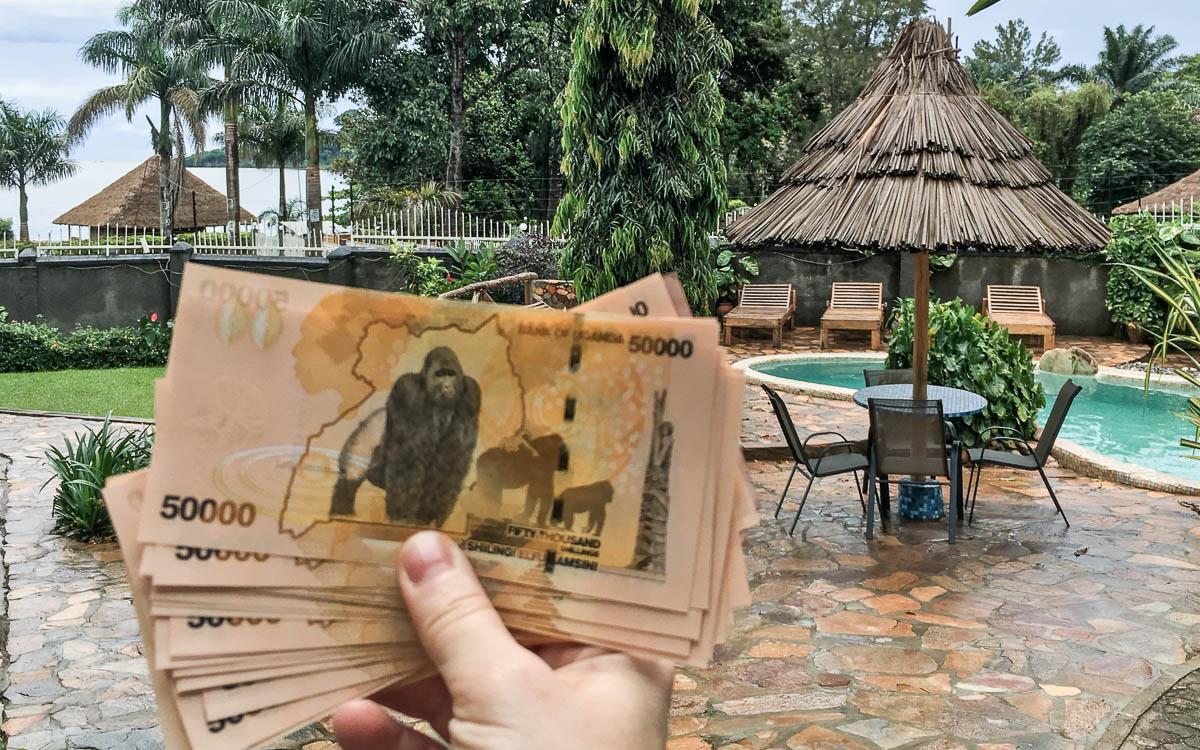 Uganda Schilling Gorilla
