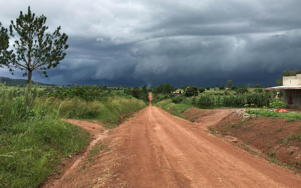 Fahrt zum Murchison Falls NP