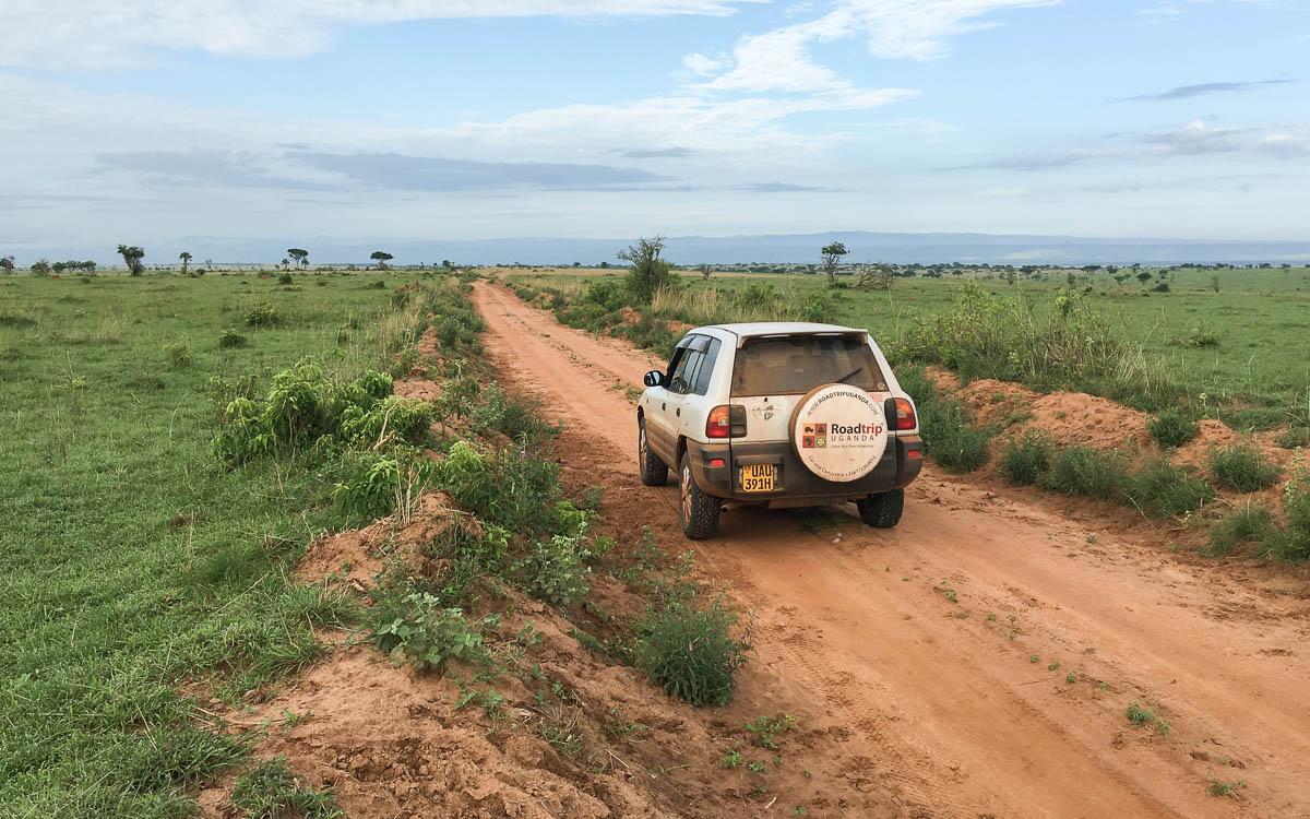 Mietwagen von Roadtrip Uganda: Toyota Rav4