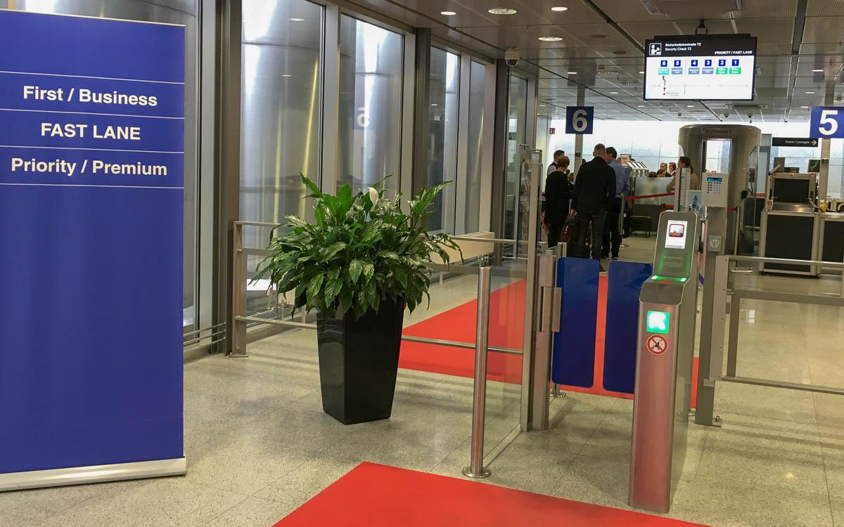 Flughafenlounge in Stuttgart
