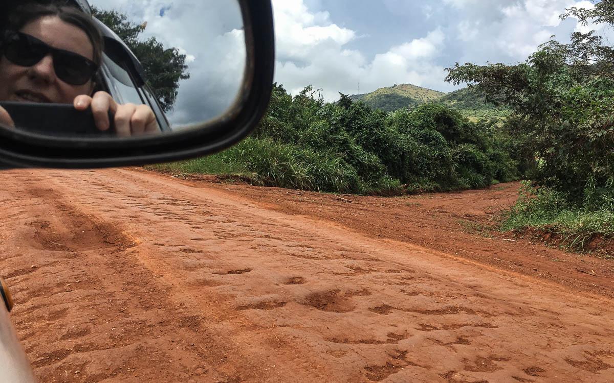 Straße Masindi - Hoima - Fort Portal