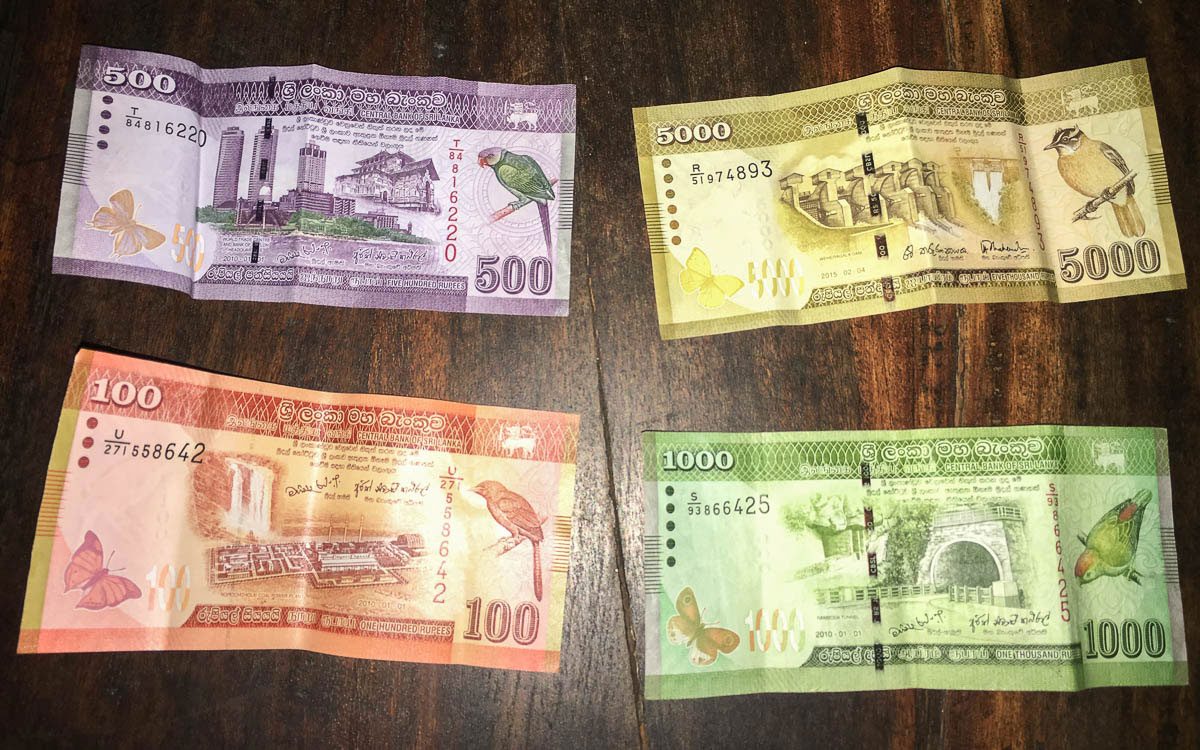 Geld in Sri Lanka