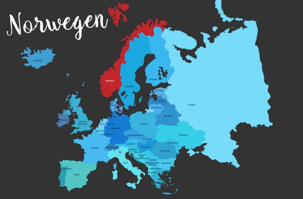 Reisetipps Norwegen Karte