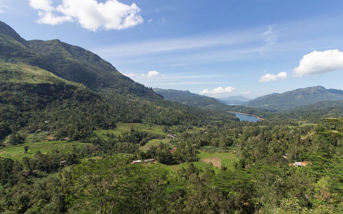 Hochland in Sri Lanka