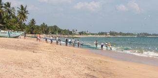 Strand von Tangalle Sri Lanka