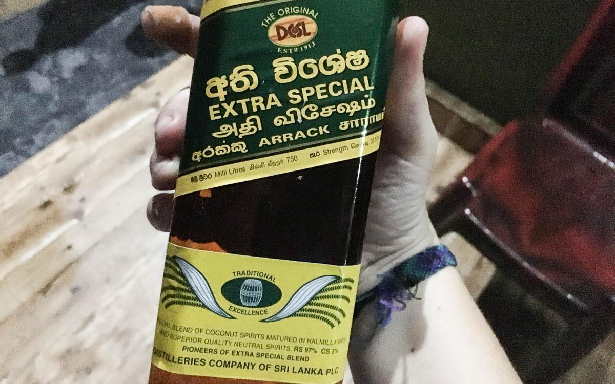 Arrack Rum Sri Lanka