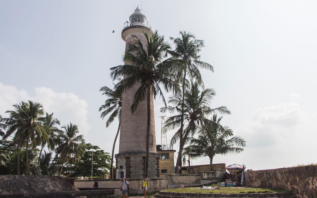Sri Lanka Sehenswürdigkeiten: Leuchtturm von Galle