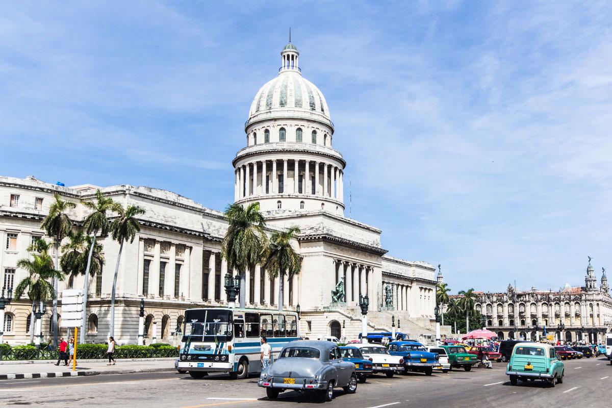 Kuba Sehenswürdigkeiten: Capitolio in Havanna