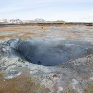 Hverir Mývatn Island