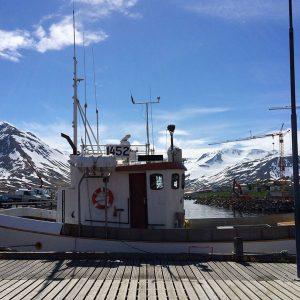 Siglufjoerdur in Island