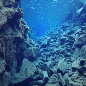 Klarstes Wasser der Welt Tauchen in Island
