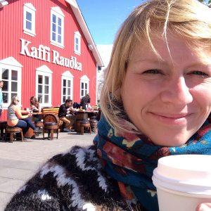 Kaffee in Siglufjoerdur Island
