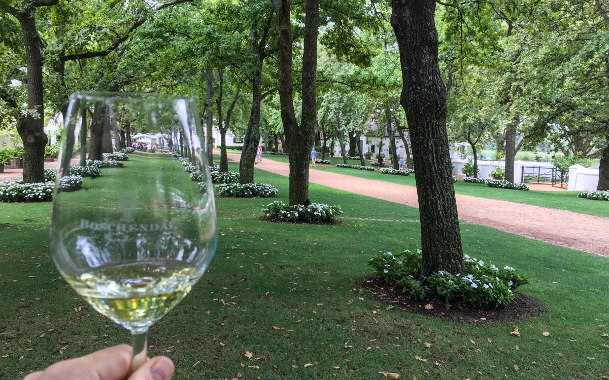 Drehort Der geilste Tag: Weingut Boschendal