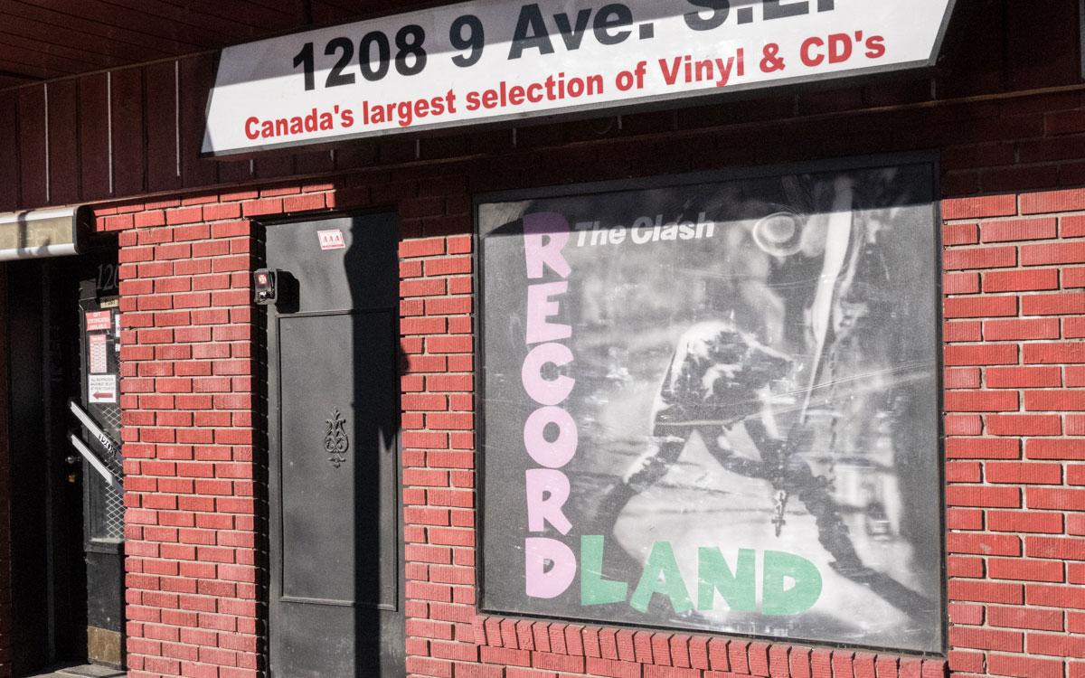 Kanadas größter Plattenladen: Recordland