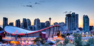 Sehenswürdigkeiten in Calgary - Skyline