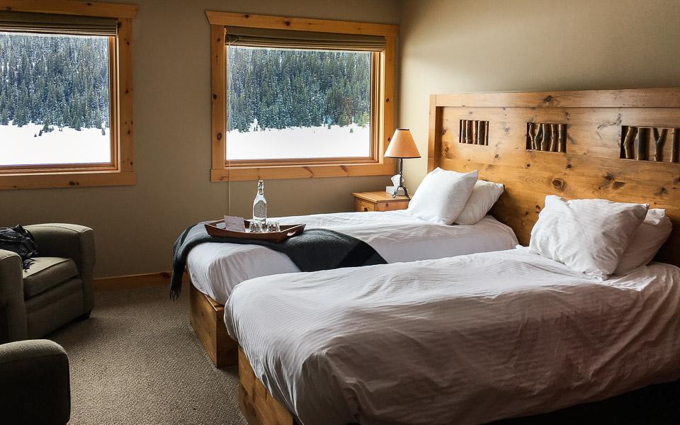 Mount Engadine Lodge Zimmer