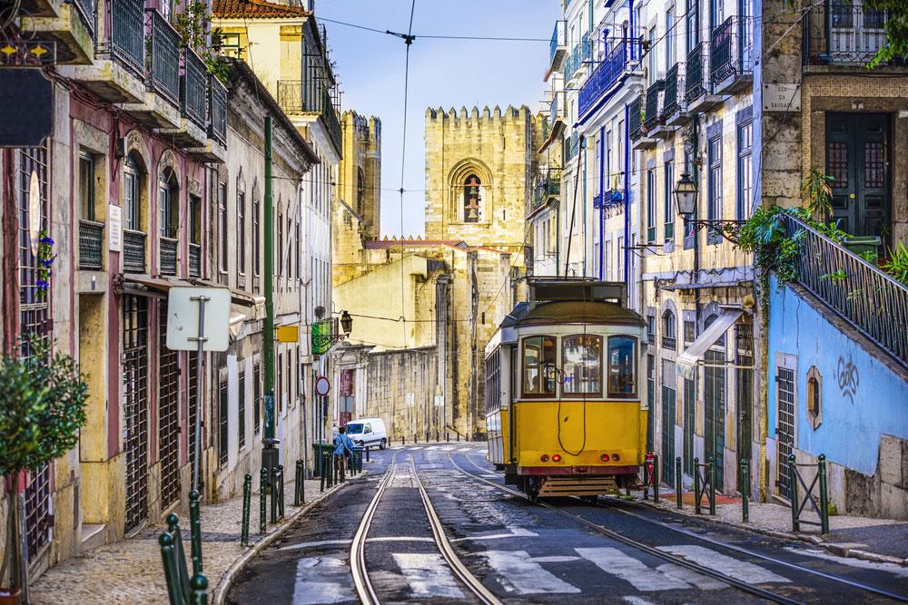 Schönste Städte Europas Lissabon