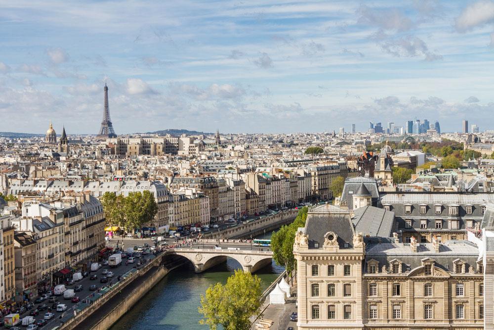Schönste Städte Europas Paris